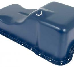 OER 1969-76 Ford / Mercury 351W Front Sump Oil Pan - Blue - Mustang / Ranchero / Cougar 6675L