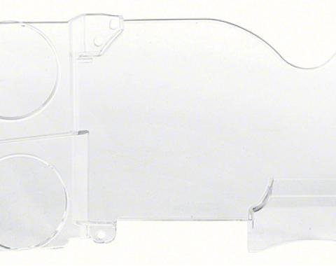 OER 1973-87 Chevrolet/GMC Truck with Gauges / without Clock Instrument Cluster Lens 14938