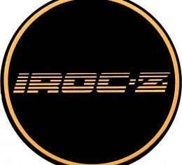 OER 1988 Camaro Aluminum Wheel Center Cap Insert Emblem - IROC-Z Gold 10087755