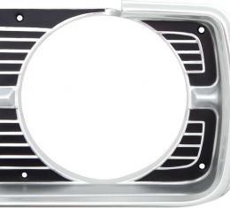 OER 1968 Dodge Dart Headlamp Bezel LH 2786669