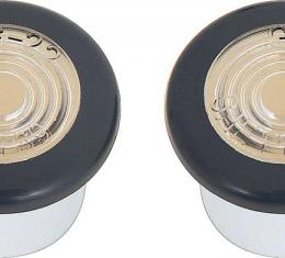 OER 1969 Pontiac Front Side Marker Lamp Assembly Pair 911138