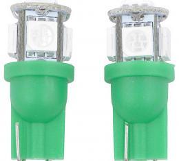 OER 194 Series Green LED Bulb 6000K LE194G