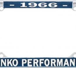 OER 1966 Yenko Performance License Frame YF1966