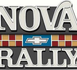 "OER 1977-79 ""Nova Rally"" Grill Emblem 372940"
