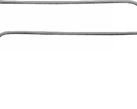 OER 1967 Camaro / Firebird Coupe Reproduction Roof Rail Weatherstrips WS503