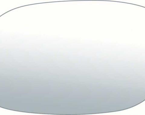 OER 1970-81 Bullet Mirror Glass (5.1 X 2.94), LH 9606231
