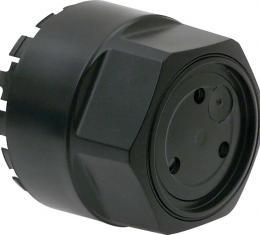 OER 1982-92 Black Alloy Wheel Center Cap - Black - 16MM Offset Wheel 12514403