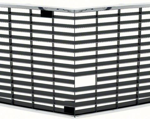 OER 1970-71 Z28 Standard Black Center Grill 3967175B
