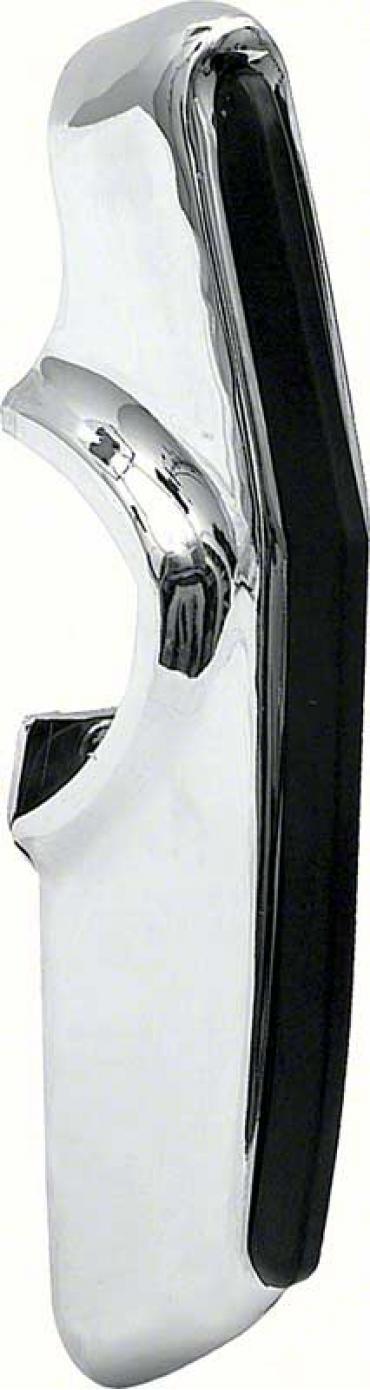 OER 1967-68 Camaro Deluxe Rear Bumper Guard with Rubber Insert K309