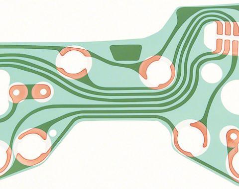 OER 1967-68 Camaro / Firebird Printed Circuit 6290070