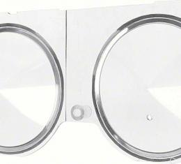 OER 1968 Camaro / Firebird with Console Gauges and Tachometer Dash Carrier Lens 6481587