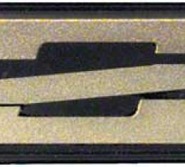 OER 1985-87 Camaro Z28 Dark Gold Rocker Emblem 20554149