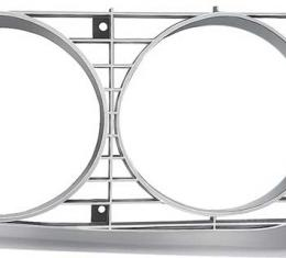 OER 1971-72 Plymouth Satellite Sebring 2 Door Hardtop Headlamp Bezel - RH 3443076