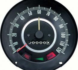 OER 1967 Camaro / Firebird with Speed Warning Standard 120MPH Speedometer 6480796