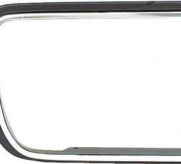 OER 1967-68 Camaro Rally Sport Headlamp Door Molding, RH 3919156