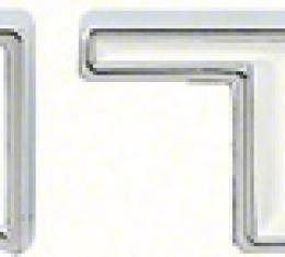 "OER 1967-69 Firebird ""Pontiac"" Trunk Lid Emblem K757"