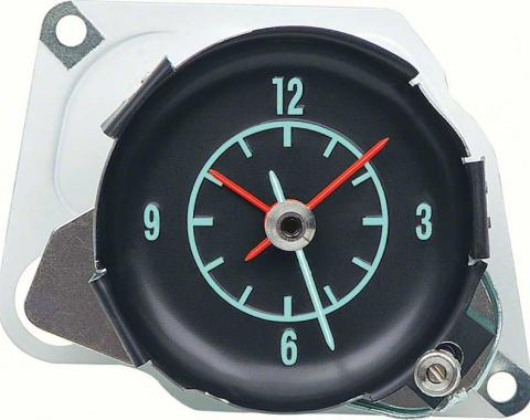 OER 1968-71 Corvette In Dash Clock - With Green Markings 6262640A