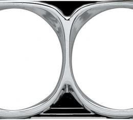 OER 1967 Impala / Full-Size Headlamp Bezels 3885963