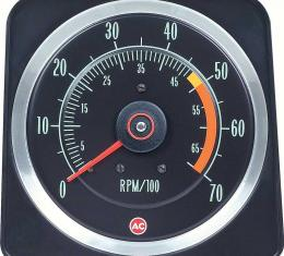 """OER 1969 Camaro SS 350 5"""" X 7"""" Tach with 5000 Red Line 6469381"""