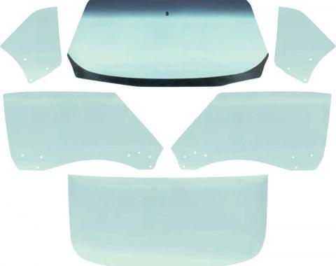 OER 1968-69 Camaro / Firebird Coupe 6 Piece Tinted Glass Kit *E351T