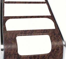 OER 1968 Firebird Burlwood Center Dash Panel- With AC K215