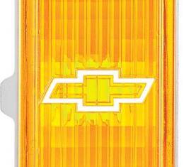 OER 1976-77 Nova 1st Design Park Lamp Lens/Housing White Bowtie-LH 913013