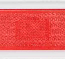 OER 1970-74 Nova Rear Quarter Side Marker Lens - Pair - Red 917441