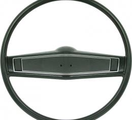 OER 1969-70 Steering Wheel Kit - Dark Green - Standard Interior *R3497