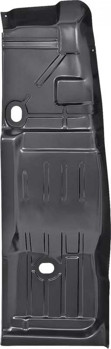 OER 1968-76 Chevy II / Nova/GM X-Body, Full Floor Pan, With Toe Board, With Drain Holes, LH E167211B