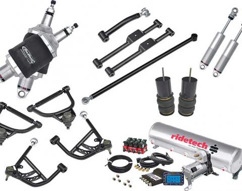 Full Size Chevy Air Ride Suspension Kit, Level 2, Complete, 1967-1970