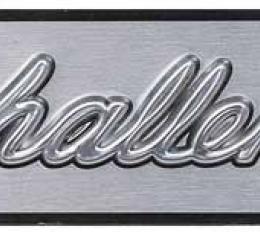OER 1971-74 Challenger Dash Emblem Insert Only ME7177