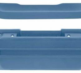 OER 1968-72 Standard Medium Blue Front Arm Rest Kit *R4908