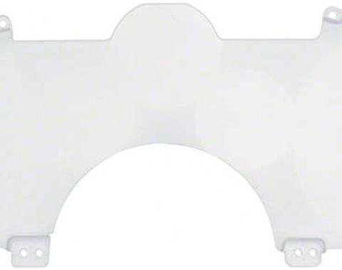OER Speedometer Instrument Panel Lens with Trip Hole On Bottom Camaro with 140 MPH 25053742