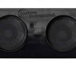 Custom Autosound 1962-1965 Chevrolet Nova Dual Speakers