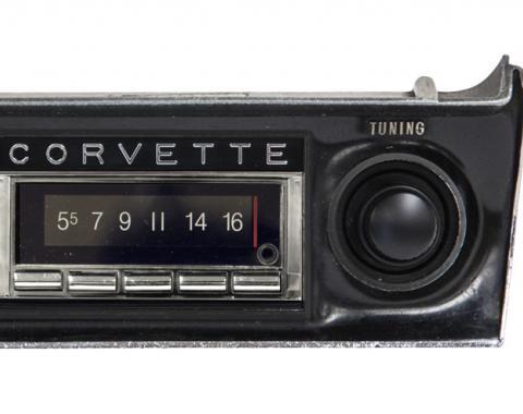 Custom Autosound 1968-1976 Chevrolet Corvette USA-740 Radio
