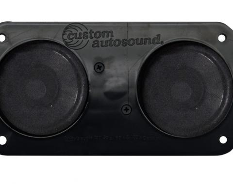 Custom Autosound 1964-1966 Ford Mustang Dual Speakers