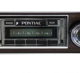 Custom Autosound 1967 Pontiac Firebird USA-230 Radio