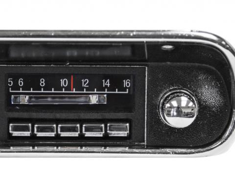 Custom Autosound 1967-1973 Ford Mustang Slidebar Radio