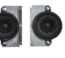 Custom Autosound 1968-1976 Oldsmobile Dual Speakers