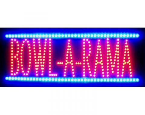 Neonetics Led Motion Signs, Bowl-a-Rama Led Sign