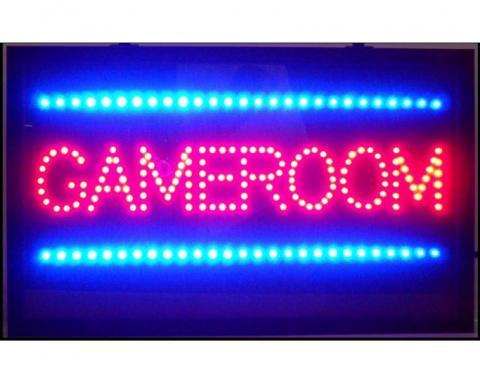 Neonetics Led Motion Signs, Gameroom Led Sign