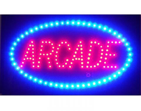 Neonetics Led Motion Signs, Arcade Led Sign
