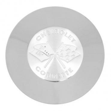 Trim Parts 58 Corvette White Horn Button, Each 5068