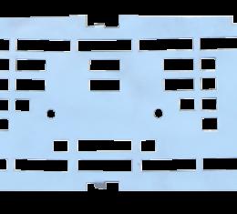 Key Parts '55-'56 GMC Hood Emblem Bed 0847-033