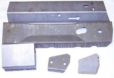 Corvette Frame Repair Section, Side Rail 23 Inch Right, 1978-1982