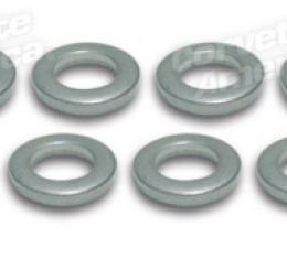 Corvette Exhaust Manifold Bolt Washers, 8 Piece Set, 1957-1980